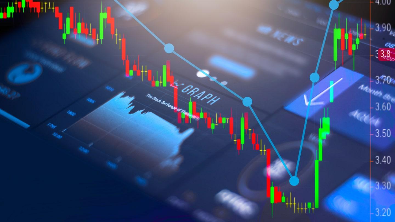 Le trading, une affaire de mathématiques ? Sa représentation est souvent celle-ci : des courbes et des graphiques.